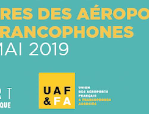 Yieloo aux Rencontres des aéroports français & francophones à Biarritz, du 16 au 18 mai 2019